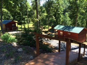 Hidden lake_Cabins_July,2015